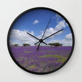 The Alentejo plain Wall Clock