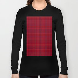 Rose Tartan Long Sleeve T-shirt