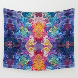 Aurora Swirls Wall Tapestry