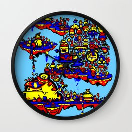 Slug City Wall Clock