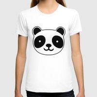 racing T-shirts featuring Racing Panda by XOOXOO