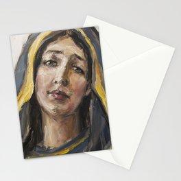 Beloved mother Stationery Cards