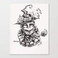 oz Canvas Prints featuring Oz by artlandofme