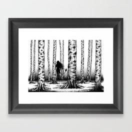 Wood Nymph Framed Art Print