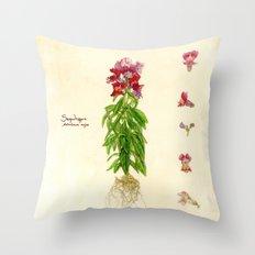 Snapdragon Throw Pillow