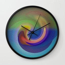 Ocean Wave Number Three Wall Clock