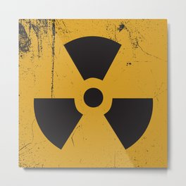 Radioactive Metal Print