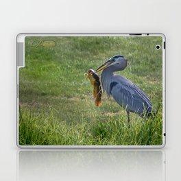 Heron and Bullhead Laptop & iPad Skin