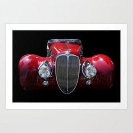 Delahaye Red Art Print