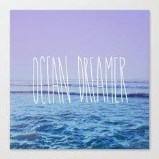 Ocean Dreamer Canvas Print