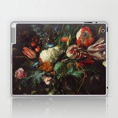 Jan Davidsz de Heem - Vase of Flowers Laptop & iPad Skin
