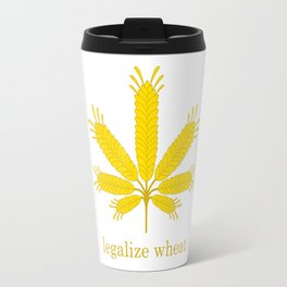 Legalize Wheat Travel Mug