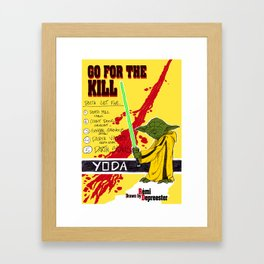 Kill Wars Framed Art Print