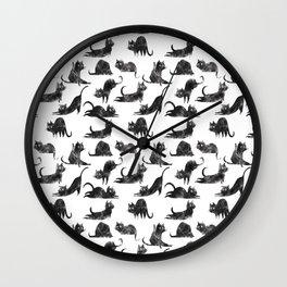 Meow-OM Wall Clock