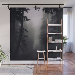 Dark Wall Mural
