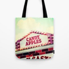 Candy Apples Tote Bag
