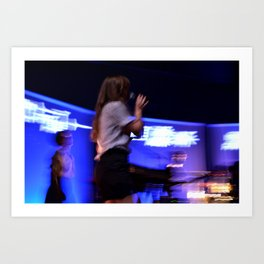 Amber Coffman of Dirty Projectors Art Print