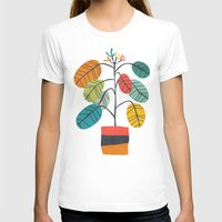 plant T-shirts featuring Potted plant 2 by Picomodi