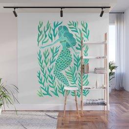 Kelp Forest Mermaid – Mint Palette Wall Mural