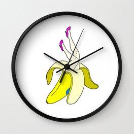 Banana Legs Wall Clock