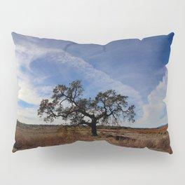 Lone Oak Tree, Laguna de Santa Rosa, Sonoma County Pillow Sham