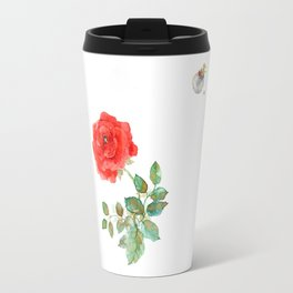 Le Petit Prince Little Prince with Fox & Rose horizontal Travel Mug