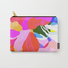 Abstract Florals I Carry-All Pouch