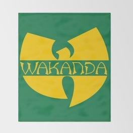 Wa-tang Kanda Throw Blanket