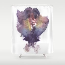 Verronica's Vulva Print No.2 Shower Curtain