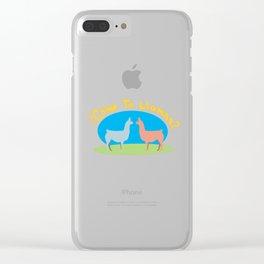 Como Te Llamas Clear iPhone Case
