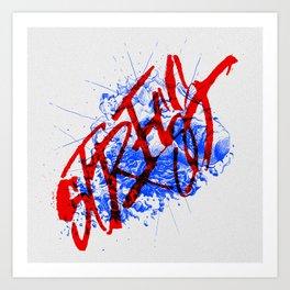 Postmodern State of Life Art Print