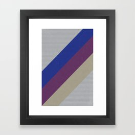 Dynamic Recording Video Cassette Palette Framed Art Print