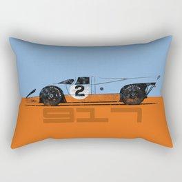 Vintage Le Mans race car livery design - 917 Rectangular Pillow