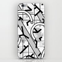 8 bit iPhone & iPod Skins featuring 8 bit by Bomburo