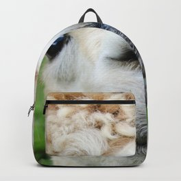 Funny Goofy Alpaca Doing a Toothy Grin Backpack