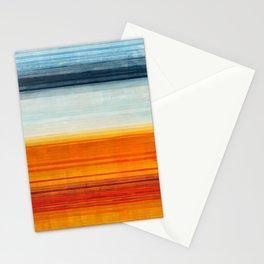 Yellowstone Orange Stationery Cards