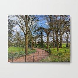 A Spring Walk Through Attingham Park, Shropshire, England Metal Print