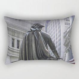 New York City's Wall Street Rectangular Pillow