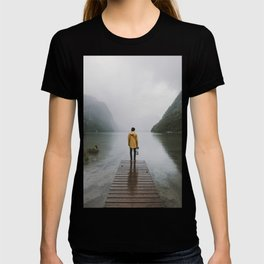 Mountain Lake Vibes - Landscape Photography T-shirt