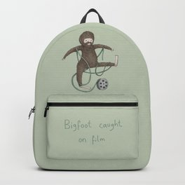 Bigfoot Caught on Film Backpack