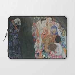 Life and Death - Gustav Klimt Laptop Sleeve