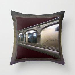 Imaginary Corridors Throw Pillow