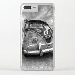German Camper Van Clear iPhone Case