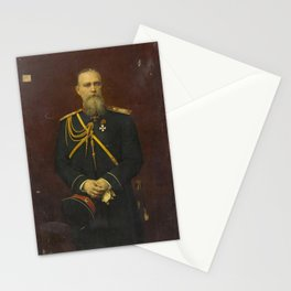 Georges Becker - Portrait of General Mikhail Chertkov Stationery Cards