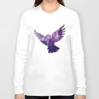 hedwig Long Sleeve T-shirts featuring Hedwig by KeriiLynne
