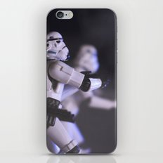 Only Imperial Stormtroopers are so precise iPhone Skin