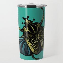 Goliath Beetle Travel Mug