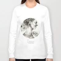 daisies Long Sleeve T-shirts featuring Daisies by Veronica Cosimetti Art