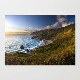Big Sur South Coast 01 Canvas Print