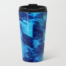 Abstract Geometric Background #23 Metal Travel Mug